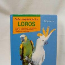 Libros de segunda mano: GUÍA COMPLETA DE LOS LOROS. EDITORIAL HISPANO EUROPEA. Lote 289507753