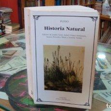 Libros de segunda mano: HISTORIA NATURAL PLINIO EL VIEJO. Lote 289543568