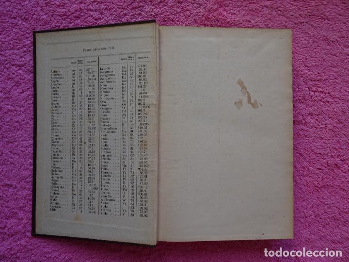Libros de segunda mano de Ciencias: análisis químico cualitativo manuel marin 1944 luis curtman 3ª edición - Foto 3 - 290087978