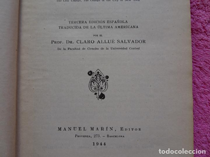 Libros de segunda mano de Ciencias: análisis químico cualitativo manuel marin 1944 luis curtman 3ª edición - Foto 5 - 290087978