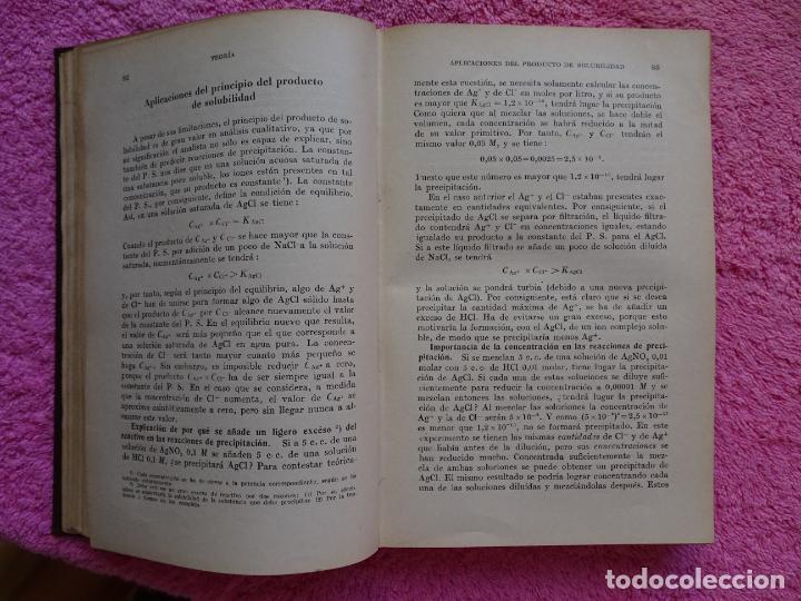 Libros de segunda mano de Ciencias: análisis químico cualitativo manuel marin 1944 luis curtman 3ª edición - Foto 6 - 290087978