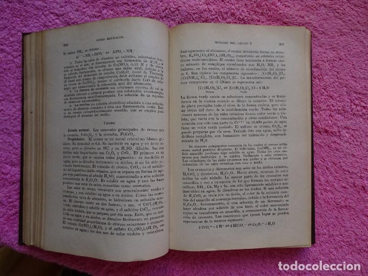 Libros de segunda mano de Ciencias: análisis químico cualitativo manuel marin 1944 luis curtman 3ª edición - Foto 9 - 290087978