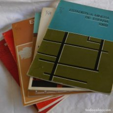 Libros de segunda mano: 5 VOLÚMENES DE ESTADÍSTICA MINERA DE ESPAÑA 1969-1970-1972-1973-1974-1975. Lote 292087178