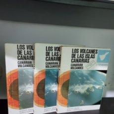 Livros em segunda mão: LOS VOLCANES DE LAS ISLAS CANARIAS. 3 TOMOS. Lote 292090788