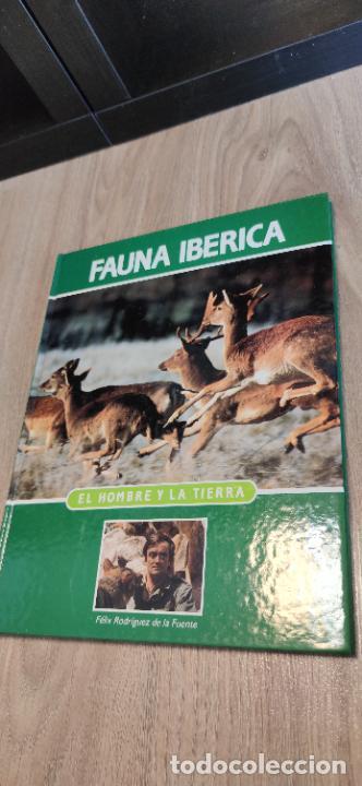Libros de segunda mano: Colección El hombre y la tierra. Fauna Ibérica. D. Félix Rodríguez de la Fuente. 30 tomos + 14 VHS. - Foto 11 - 293199678