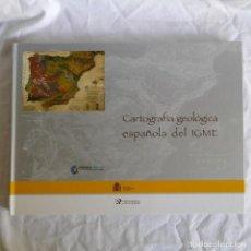 Libros de segunda mano: CARTOGRAFÍA GEOLÓGICA ESPAÑOLA DEL IGME 2007, REPRODUCCIONES DE MAPAS ANTIGUOS PROVINCIALES. Lote 293345743