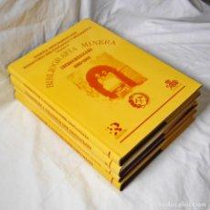 Libros de segunda mano: MINERÍA IBEROAMERICANA, REPERTORIO BIBLIOGRÁFICO Y BIOGRÁFICO, OBRA COMPLETA 4 VOLÚMENES, 1992. Lote 293654108