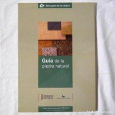 Libros de segunda mano: GUÍA DE LA PIEDRA NATURAL, 2011. Lote 293654218