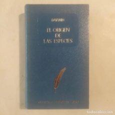 Libros de segunda mano: EL ORIGEN DE LAS ESPECIES. DARWIN, CHARLES. Lote 295489403