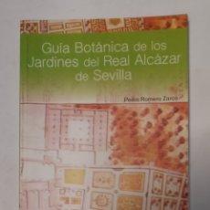 Libros de segunda mano: GUIA BOTANICA DE LOS JARDINES DEL REAL ALCAZAR DE SEVILLA. Lote 295491783