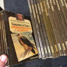 Libros de segunda mano: CUADERNOS DE CAMPO FELIX RODRIGUEZ DE LA FUENTE, HAY 52, AÑO 1977 FALTAN 1,12,27,28,38,50,55 Y 57. Lote 295518538
