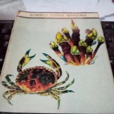 Libros de segunda mano: LOS MARISCOS. ROBERTO LOTINA BENGURIA. Lote 295521173