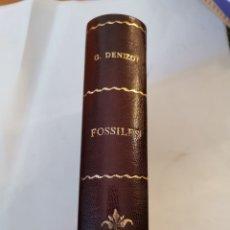 Libros de segunda mano: ATLAS DES FOSSILES GEORGES DENIZOT. Lote 296747708