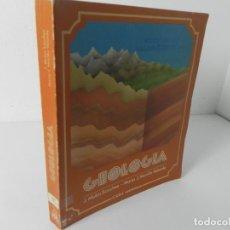 Libros de segunda mano: GEOLOGÍA (J. MULAS SÁNCHEZ-MARÍA J. MORILLO VELARDE)) EDITORIAL SANTILLANA 1ª EDICIÓN 1983. Lote 296768893