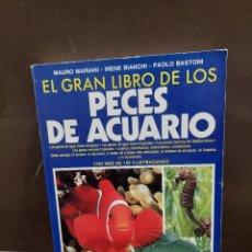Libros de segunda mano: EL GRAN LIBRO DE LOS PECES DE ACUARIO...1991... Lote 296967138