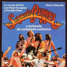 Libros de segunda mano: CINE - SARGENTO PEPPER - HENRY EDWARDS - BARCELONA - PETER FRAMPTON Y THE BEE GEES. Lote 26513784