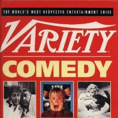 Libros de segunda mano: VARIETY COMEDY MOVIES. ILLUSTRATED REVIEWS OF THE CLASSIC FILMS.. Lote 26623663