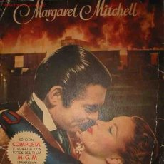Libros de segunda mano: LO QUE EL VIENTO SE LLEVÓ. AUT: MITCHELL MARGARET. 1951. Lote 2412935