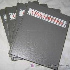 Libros de segunda mano: CINE Y MÚSICA, TOMOS 1, 2, 3 Y 4, DE SALVAT. Lote 22721958