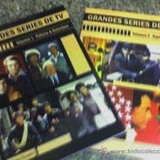 Libros de segunda mano: GRANDES SERIES DE TV - VOLÚMENES 1 Y 2 - EDITORIAL ZUK - ARGENTINA - 2007 - DE COLECCION!! OFERTA!!. Lote 25756106