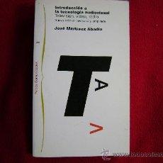 Libros de segunda mano: INTRODUCCIÓN A LA TECNOLOGÍA AUDIOVISUAL. PAIDOS COMUNICACIÓN.1998. CINE, TELEVISION.. Lote 26267652