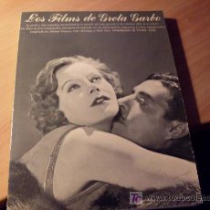 Libros de segunda mano: LOS FILMS DE GRETA GARBO. Lote 19463420