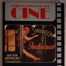 Libros de segunda mano: HISTORIA UNIVERSAL DEL CINE. TOMO 3. PLANETA 1982. GLORIA SWANSON. Lote 23010561