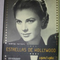 Libros de segunda mano - ESTRELLAS DE HOLLYWOOD (1920 a1960). EDITORIAL EVEREST. ANDREA FERRATI - 25014490