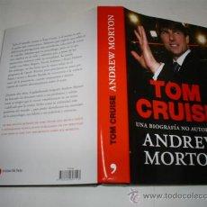 Libros de segunda mano: TOM CRUISE UNA BIOGRAFÍA NO AUTORIZADA ANDREW MORTON TEMAS DE HOY 2008 RM40900. Lote 21690874