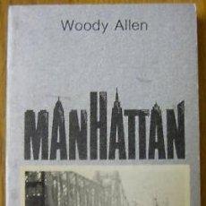 Libros de segunda mano: WOODY ALLEN: LOTE DE 2 LIBROS PERFILES - MANHATTAN - TUSQUETS EDITORES. Lote 22060548