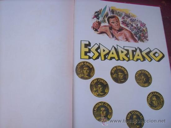 Libros de segunda mano: LOTE DE 5 LIBROS - MIS PELICULAS - MAUCCI - ESPAÑA (1959) BEN HUR/ ESPARTACO/ EL PEZ ROJO/ OTROS - Foto 6 - 27034753