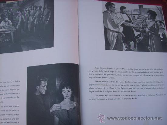 Libros de segunda mano: LOTE DE 5 LIBROS - MIS PELICULAS - MAUCCI - ESPAÑA (1959) BEN HUR/ ESPARTACO/ EL PEZ ROJO/ OTROS - Foto 7 - 27034753