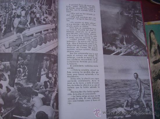 Libros de segunda mano: LOTE DE 5 LIBROS - MIS PELICULAS - MAUCCI - ESPAÑA (1959) BEN HUR/ ESPARTACO/ EL PEZ ROJO/ OTROS - Foto 8 - 27034753