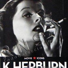 Libros de segunda mano: LIBRO FOTOGRAFÍAS KATHARINE HEPBURN ACTRIZ TASCHEN MOVIE ICONS FOTOS CINE FOTOGRAFÍA BIOGRAFÍA ÍDOLO. Lote 28358457