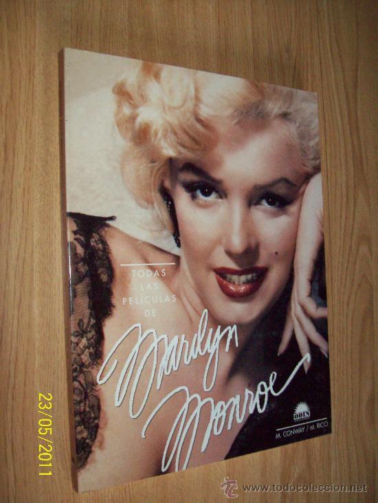 MARILYN MONROE TODAS SUS PELICULAS CON MUCHAS FOTOS - M.CONWAY /M.RICCI - ODIN 1º EDICION 1993 (Libros de Segunda Mano - Bellas artes, ocio y coleccionismo - Cine)