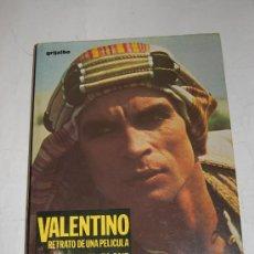 Libros de segunda mano: VALENTINO. RETRATO DE UNA PELÍCULA. EL VALENTINO DE NUREYEV. ALEXANDER BLAND RM51901. Lote 28460724
