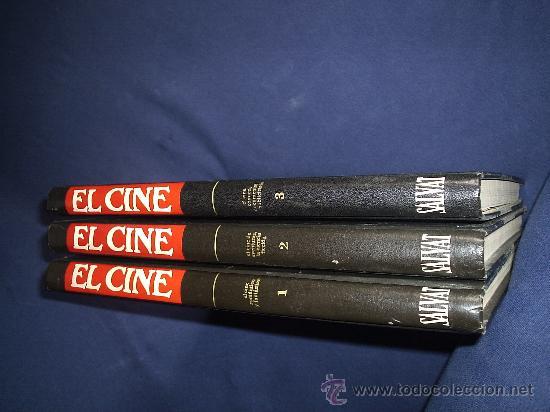 EL CINE. ENCICLOPEDIA SALVAT DEL 7º ARTE VOL. 1 AL 3 (SALVAT, 1979) (Libros de Segunda Mano - Bellas artes, ocio y coleccionismo - Cine)