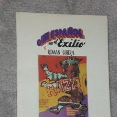 Libros de segunda mano: CINE ESPAÑOL EN EL EXILIO. 1936-1939.. Lote 28571846
