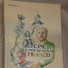 Libros de segunda mano: EL CINE QUE NOS DEJÓ VER FRANCO.(SOBRE EL CINE EN ALBACETE). Lote 28609404