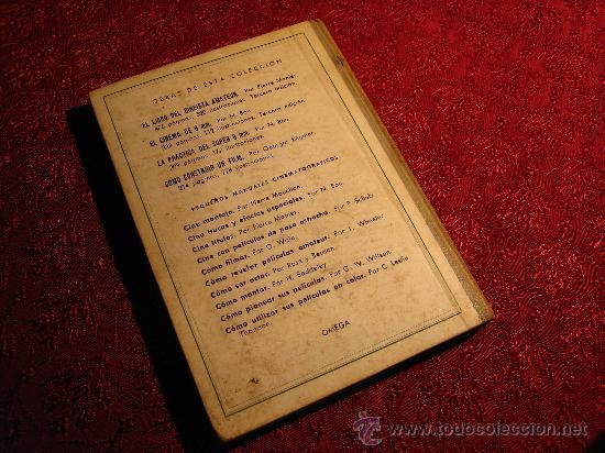 Libros de segunda mano: Cómo montar un film amateur por Hugh Baddeley de Ediciones Omega en Barcelona 1961 - Foto 2 - 28798747