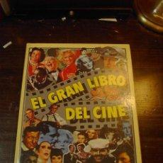 Libros de segunda mano: EL GRAN LIBRO DEL CINE,JOEL W.FINLER, ED. HMB, 1979. Lote 28985537
