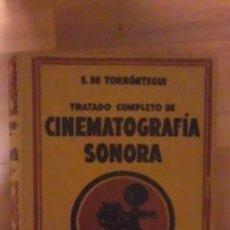 Libros de segunda mano: CINEMATROGRAFÍA SONORA (BARCELONA 1933) PRIMERA EDICIÓN. Lote 29765091
