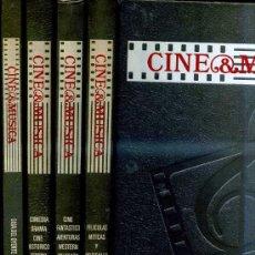 Libros de segunda mano: CINE & MÚSICA - 4 TOMOS (SALVAT, 1987). Lote 29975071
