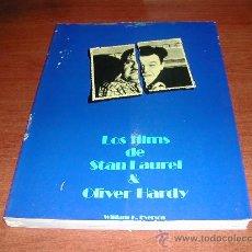 Libros de segunda mano: LOS FILMS DE STAN LAUREL Y OLIVER HARDY. ED. AYMÁ 28 X 21 CM (CINE) 1976 REFª (JC). Lote 29987247