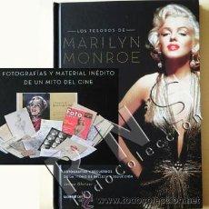Libros de segunda mano: LOS TESOROS DE MARILYN MONROE FOTOGRAFÍAS RECUERDOS DOCUMENTOS ACTRIZ EEUU MITO FOTOS CINE LIBRO. Lote 30746575