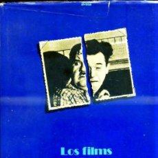 Libros de segunda mano: LOS FILMS DE STAN LAUREL Y OLIVER HARDY (AYMÁ, 1976) GRAN FORMATO. Lote 30791219