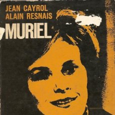 Libros de segunda mano: MURIEL DE JEAN CAYROL Y ALAIN RESNAIS. Lote 31186666