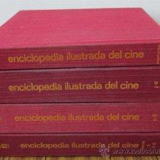 Libros de segunda mano: 4 TOMOS .. ENCICLOPEDIA ILUSTRADA DEL CINE . Lote 31596233