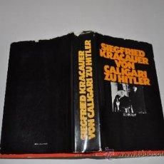 Libros de segunda mano: VON CALIGARI ZU HITLER SIEGFRIED KRACAUERT RA15983. Lote 31720542