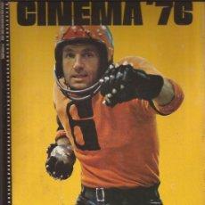 Libros de segunda mano: LIBRO DE CINE-CINEMA 76-EDIT DAVID CASTELL-UK-EN INGLES-MUCHAS FOTOS-MCQUEEN EASTWOOD CAAN REDFORD. Lote 31751498